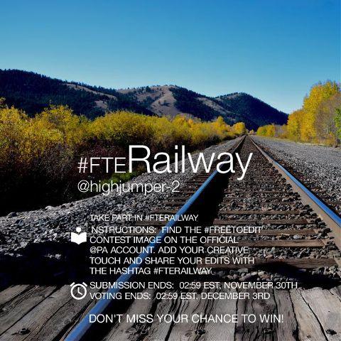 railway contest editing