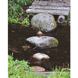 river nature rocks