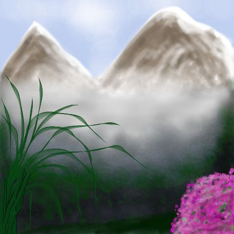 dcmountains nature snow mountain drawing