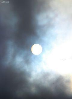 sun photography cloud sky round