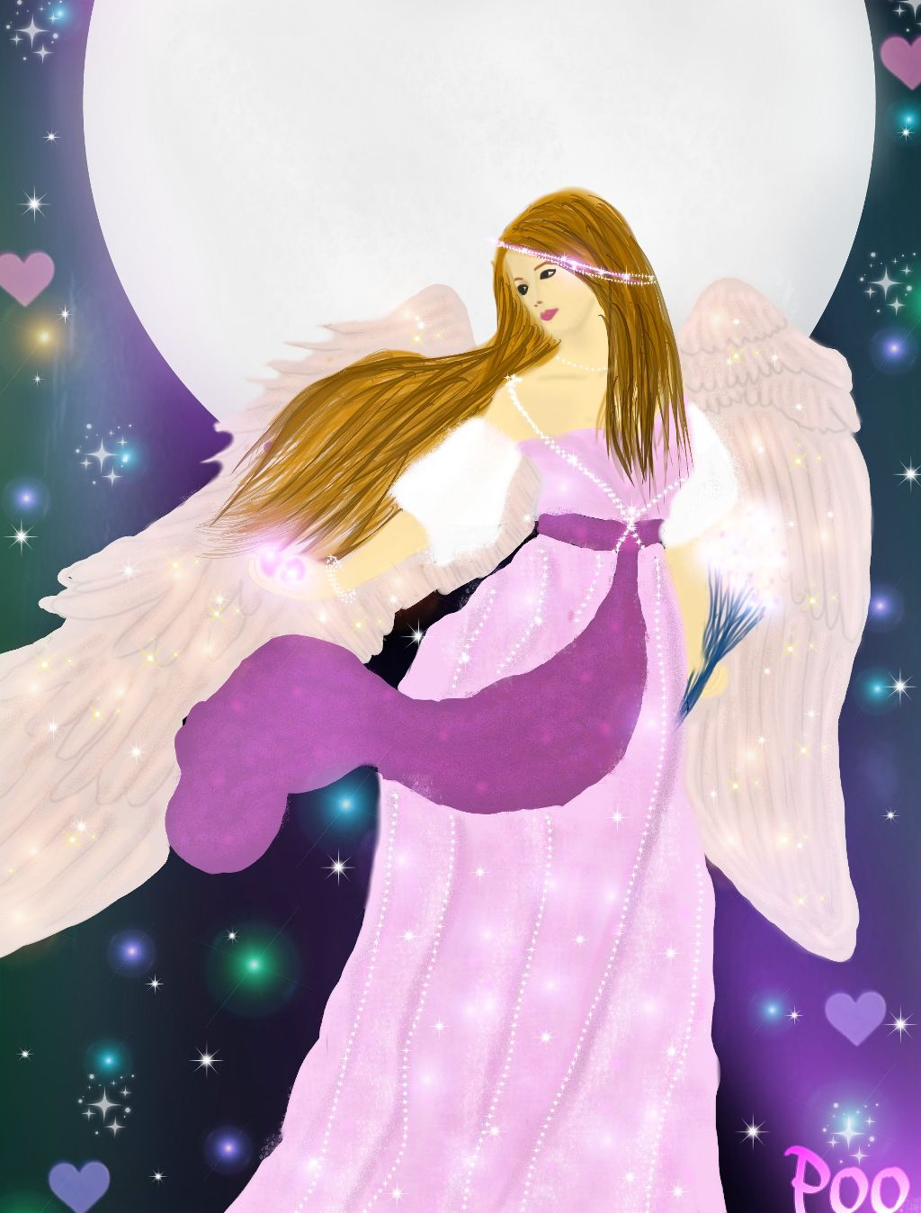 Angels are the perfect example of magic.😉 #dcmagic#drawing#magic#angel#beautiful