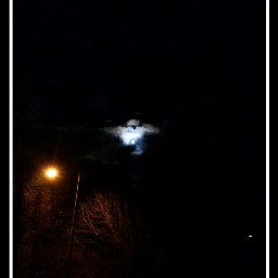 moon october octoberphotoaday finnish landscape