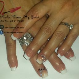 acrylicnails frenchnails ombrenail delicatenails