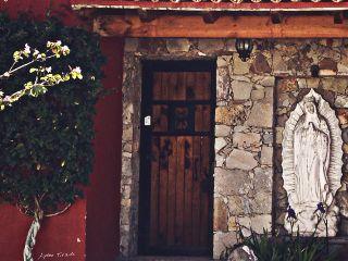 facade door house street mexican