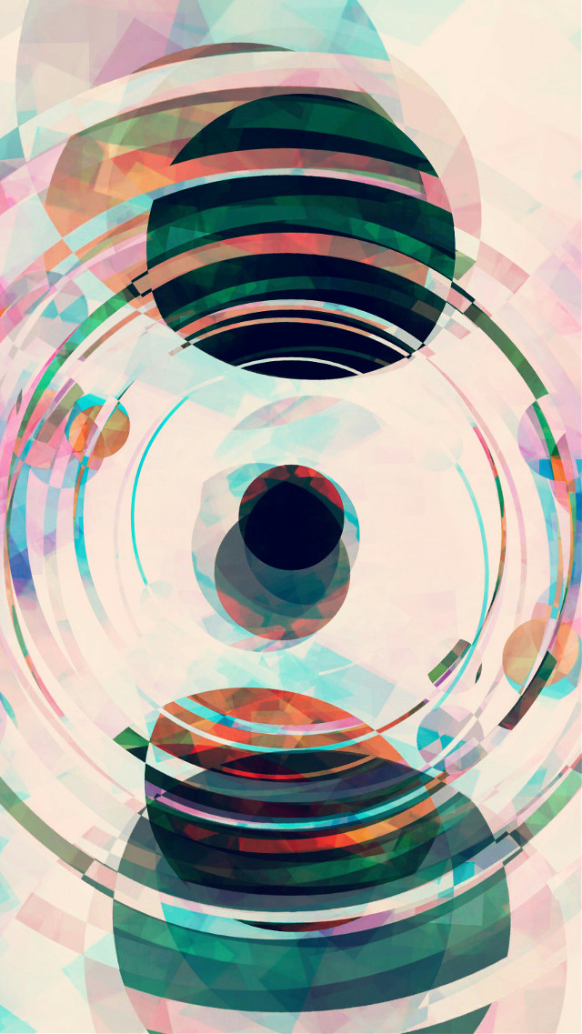 Orbits.  Another edit of an edit..   #orbit #negativeeffect #abstract #transform #freetoedit #colorful #circles