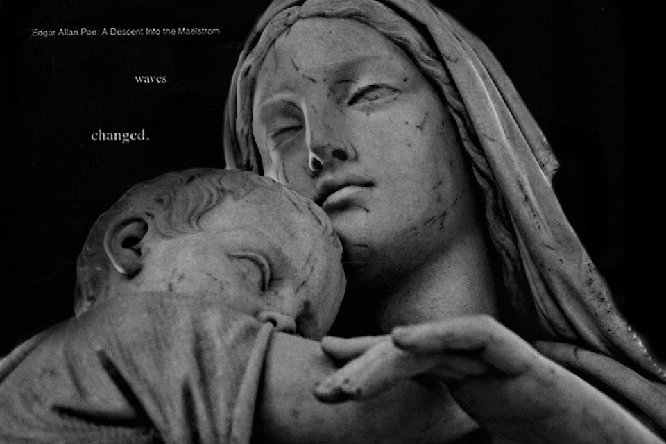 #Inspiration #Unique #Creative #BlackAndWhite #Pale #Statue #Sculpture #Museum #Details #Photography #Photographer #Hermitage #Anciet #Greek #Interesting #Beautiful #Dark #Perspective #Face  #Woman #Child #Mother #Message #Poem