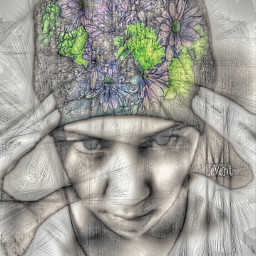freetoedit lomoeffect art artisticselfie pencilart doubleexposure people fattal1