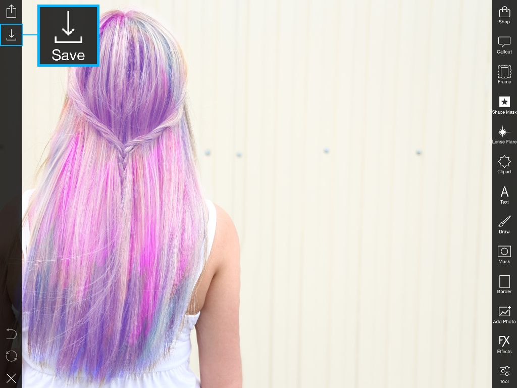 Art color hair - Confirm The Photo Editing Photo Sharing