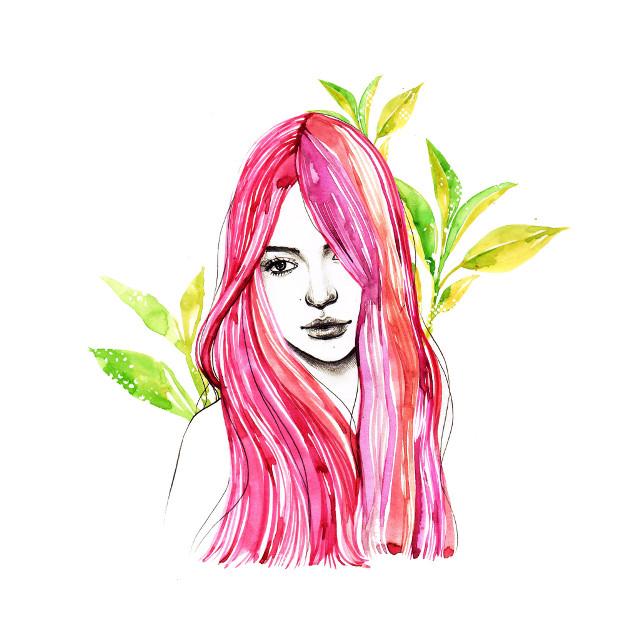 #illustration #illust #fashionillustration #pencil #pencildrawing #draw #drawing #watercolor #girl #artwork #flower #sketch