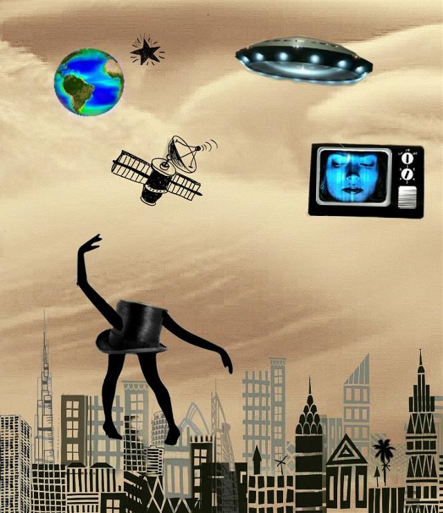 #surrealism #collage #invasion  #force #myart #allpicsart