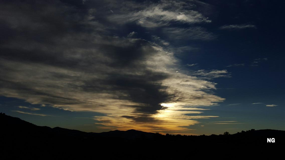 Italy, sunset.