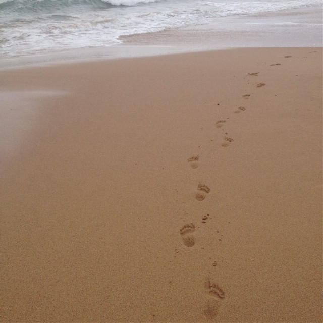 When there is a week of fun and outdoors there is a week of social media posts... #beach #footprints #sand #ocean