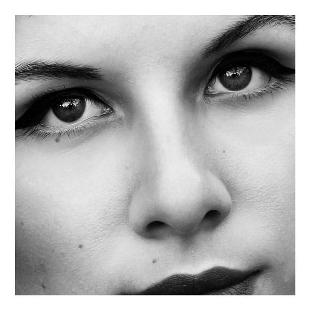 #blackandwhite #beautiful #face