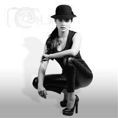 hat portrait blackandwhite b bw