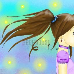 anime drawing animedrawing animegirl echodustdrawings