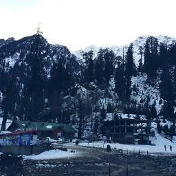 winter manali india