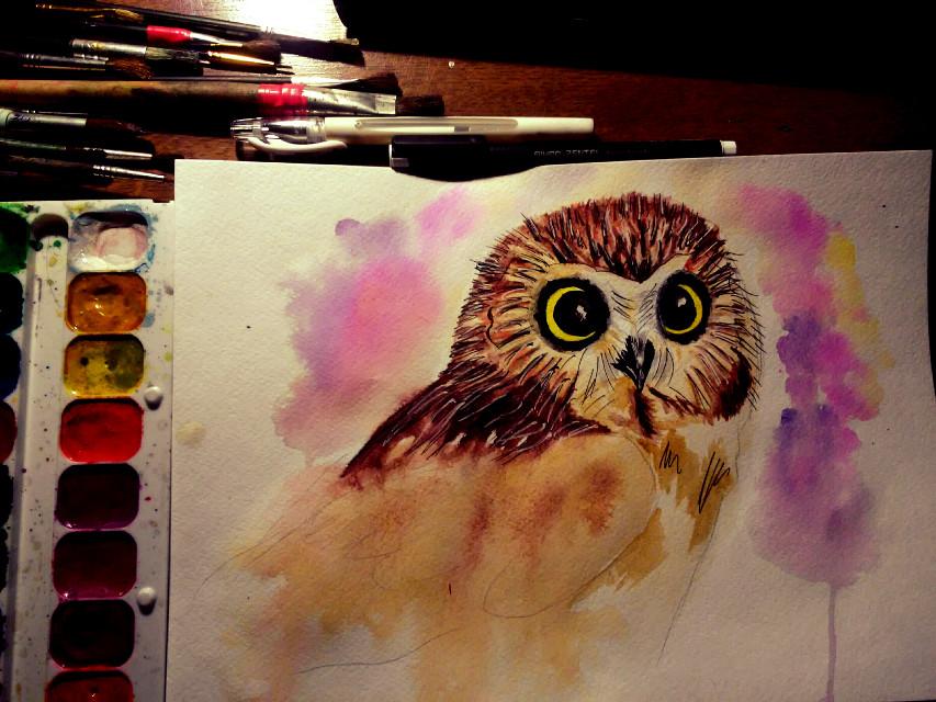 #art  Owl :3