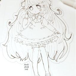 traditional doodle nocolor