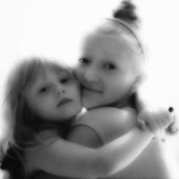 softfocus dreamy sisters family love