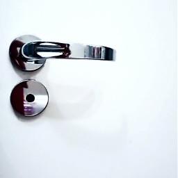 keepitsimple door white silver doorhandle