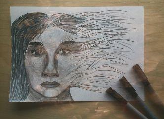 emotions drawing bokeh
