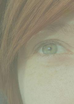 vintageeffect closeup eye face waytooclose