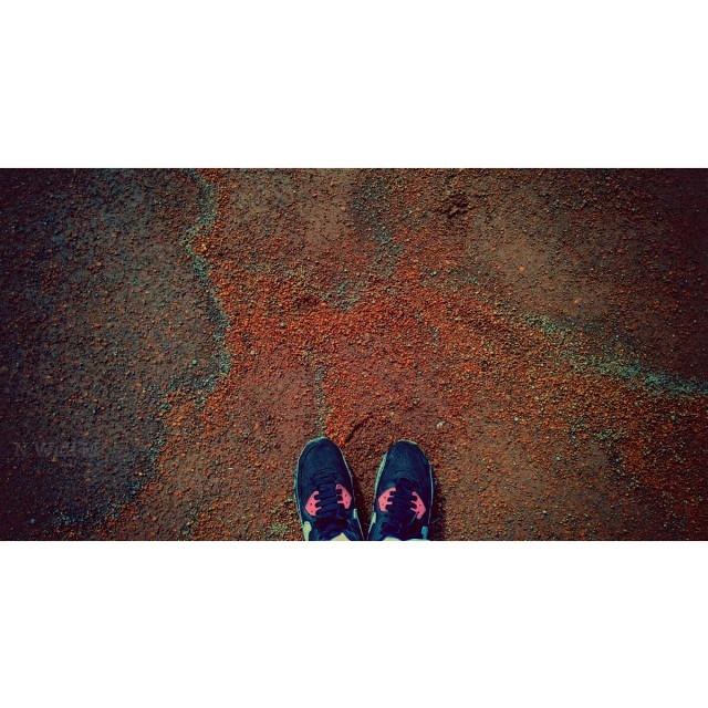 Run and walking #nike