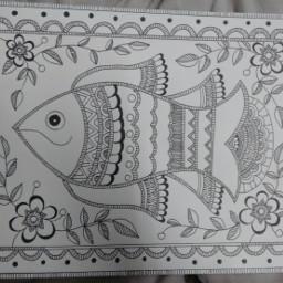 my art work blackandwhite pen