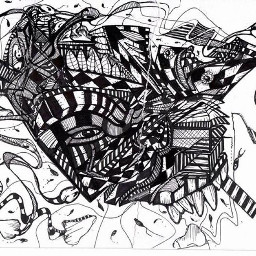 #art #abstract #outsiderart #handdrawn