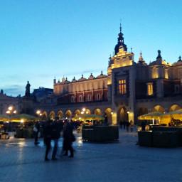 hdr poland city evening