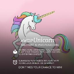 contest drawing unicorn