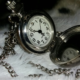 vintagefinds vintage time silver necklace
