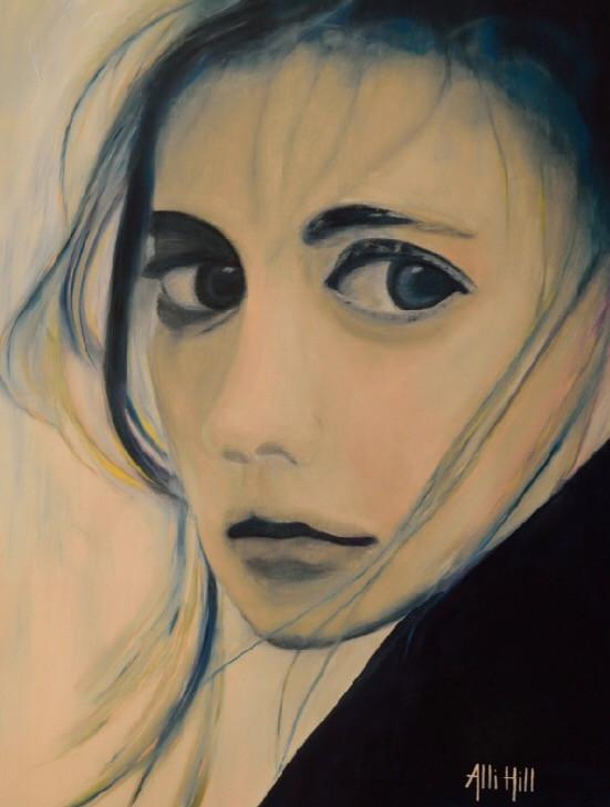 #art #studioalli #allihill #artist #faces #modernart