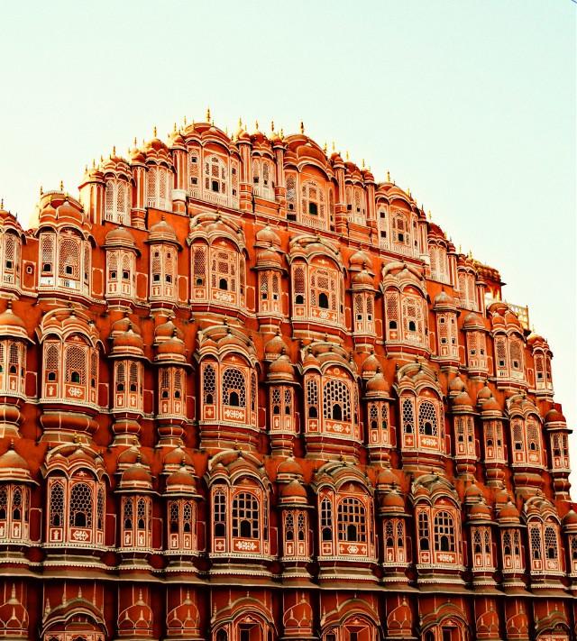 Hawa Mahal (India) Jaipur #colorful #colorsplash #photography #travel #vintage