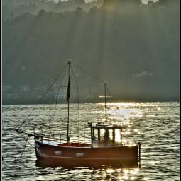 freetoedit photography emotions lake boat