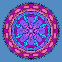 mandala colorful photography