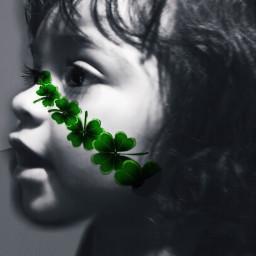 stpatricksday grandchild green infants child