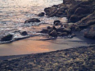beach shore coast seaside sea