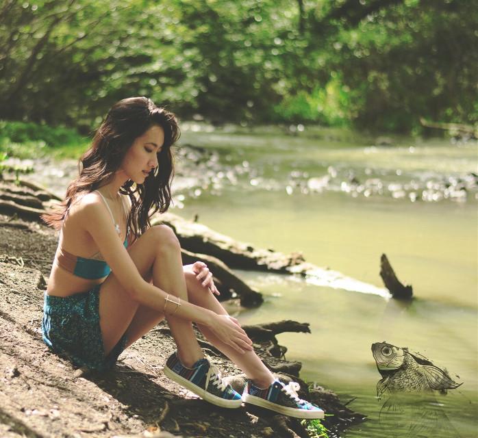 Hi fishy 🐟 #clipart #fish #outdoors
