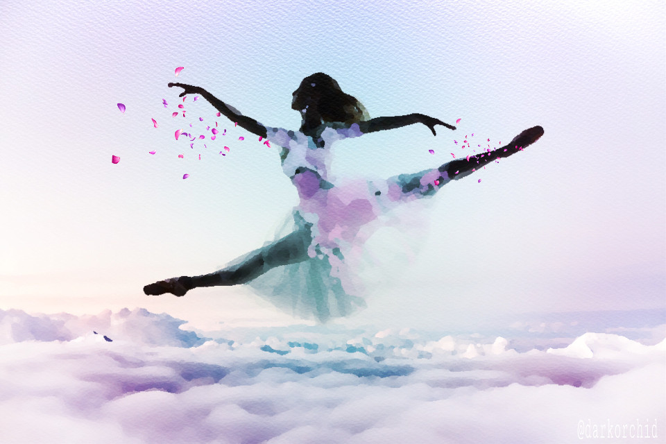 #inspiration #madewithpicsart #silhouette #fantasy Background cloud image from #freetoedit PA account.