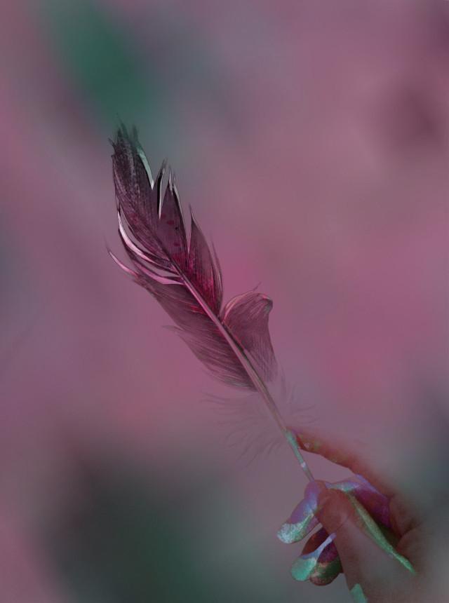 @smyy_nn #art #feather    #FreeToEdit