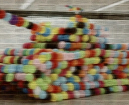 motion blur amazing balloon tank