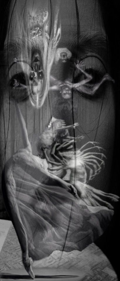 Dancing with Death #inmotion #motion #interesting #edited #blackandwhite