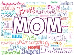 words text moms mothersday begrateful