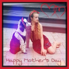 mom happymothersday art dogmom feature freetoedit