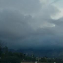 mountain cloud roadtrip
