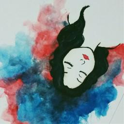girl art sketch freetoedit