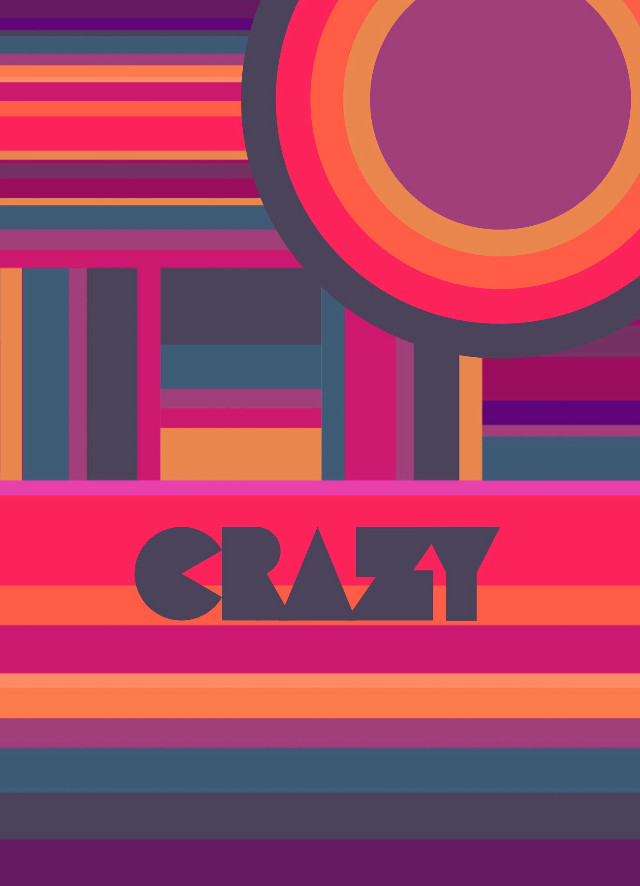 #crazy #colours #abstract #shape #geometric #bright