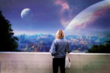 freetoedit girl space remix looking