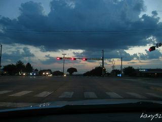 photography sky road intersection sunset